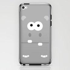 Minimal Hippo iPhone & iPod Skin