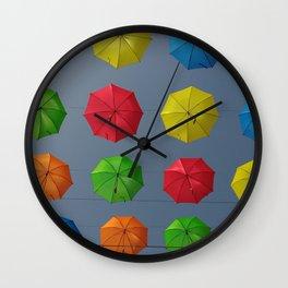 Don't Rain On My Parade Wall Clock