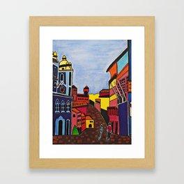 SALVADOR DO MEU OLHAR Framed Art Print