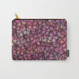 pink Veronica butterflies aflutter Carry-All Pouch