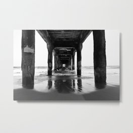 Manhattan Beach Pier Metal Print