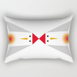 is it a bird? is it a rocket? Rectangular Pillow