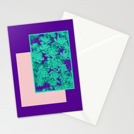 Neon Aeonium #society6 #succulent Stationery Cards
