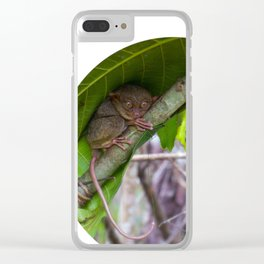 Don't be so scared Clear iPhone Case
