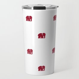 Crimson Elephant Travel Mug