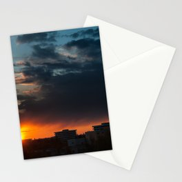 Sunset in Munich Stationery Cards