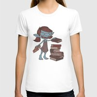 books T-shirts featuring Books! by Marmota Minima