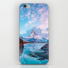 Frozen Matterhorn iPhone Skin