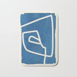 abstract minimal 57 Bath Mat