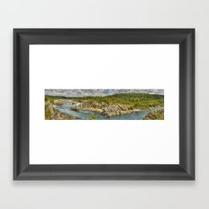 Great Falls, Virginia Framed Art Print