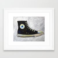 chuck Framed Art Prints featuring Chuck by Cary Polkovitz
