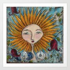 Sunshine Daydream Art Print