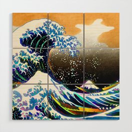 The Great Wave Wood Wall Art