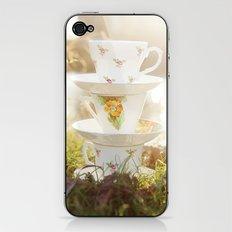 Three little teacups iPhone & iPod Skin