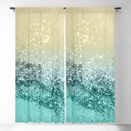 Lemon Twist Beach Glitter #2 #shiny #decor #art #society6 Blackout Curtain