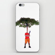 Warrior tree iPhone Skin