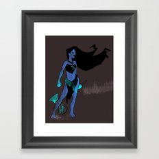 Pocahontas Takes No Prisoners Framed Art Print