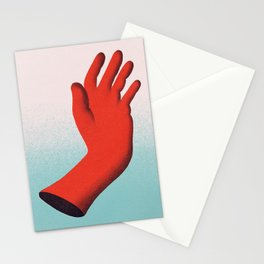 Limbs in Red Stationery Cards