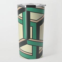 Impossible Cube Travel Mug