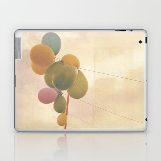 The Vintage Balloons Laptop & iPad Skin