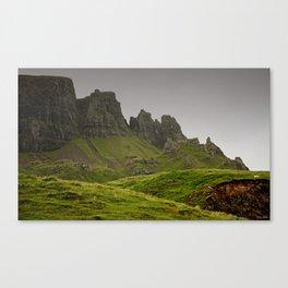 impressions of scotland - quiraing IV Canvas Print