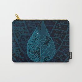 X-ray of a leaf Carry-All Pouch