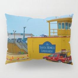 Santa Monica Lifeguards Pillow Sham