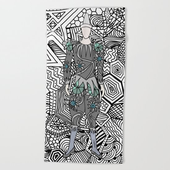 Bowie Fashion 5 Beach Towel