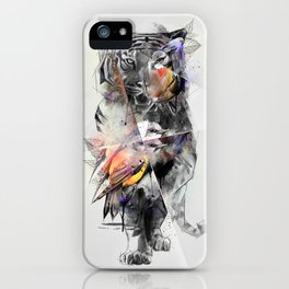 Tiger Triangle iPhone Case