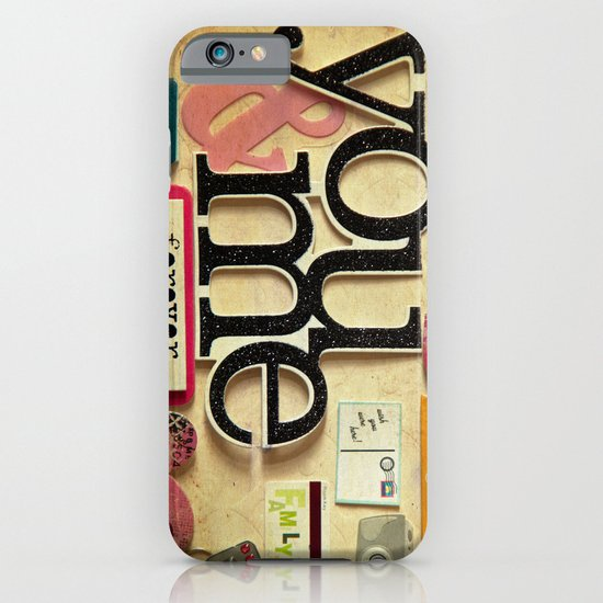 Collage Love - You & Me iPhone & iPod Case