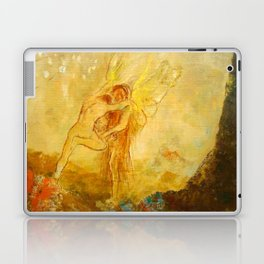"Odilon Redon ""Jacob Wrestling with the Angel"" Laptop & iPad Skin"