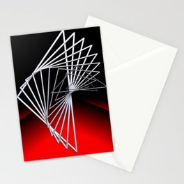 triangles -4- Stationery Cards