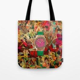Pin-up Time Tote Bag
