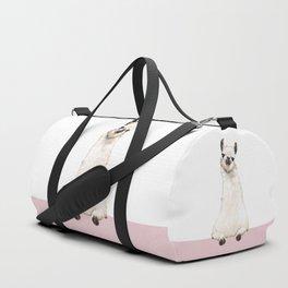hi! Llama Duffle Bag