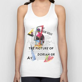 The Picture of Dorian Gray PSTR collage Unisex Tank Top