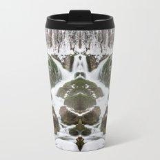 Flowing Metal Travel Mug
