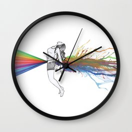 I Am Colour Wall Clock