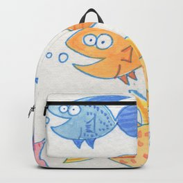 Happy Fish! 10 Backpack