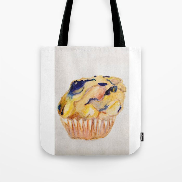 9f2d90cf0c Blueberry Muffin Tote Bag by lindseyelise | Society6