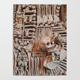bones wall Poster