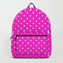 Dots (White/Hot Magenta) Backpack