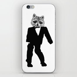Twisted Raccoon iPhone Skin