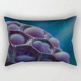 Water Thistle Rectangular Pillow