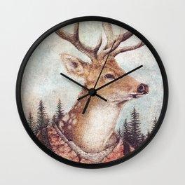 Wild Wanderer Wall Clock
