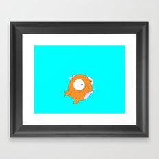 Phat Fish Framed Art Print