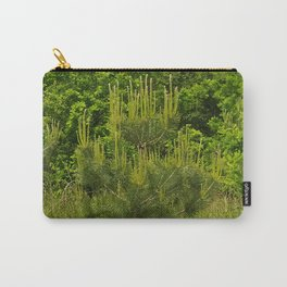 Pine and Green Meadow Carry-All Pouch