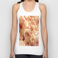 orchid Tank Tops featuring Orchid by Bê Machado