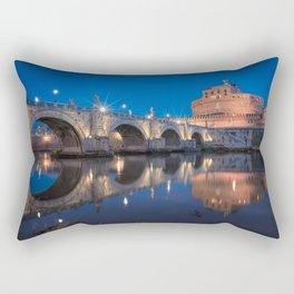 Castel Sant'Angelo Rectangular Pillow