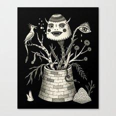 Savage Bouquet Canvas Print