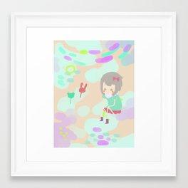 Sweet Land Framed Art Print